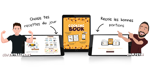 cookingBook ohmygym supertrainers ebook recettes calcul portions w500